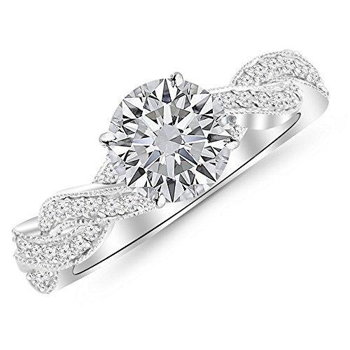 0.3 Ct White Diamond - 9