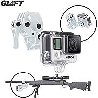 Sportsman Mount Fixing Clip for Gun / Fishing Rod / Bow GoPro Hero 3 & 4 Action Cameras (WHITE)