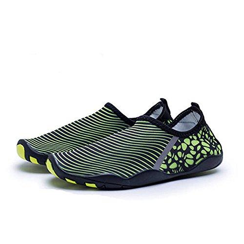 BlanKey Sports Beach Kids Quick Flats Dry Swim Flexible Men Shoes Green1 Women Barefoot Shoes Water r5q8Ur