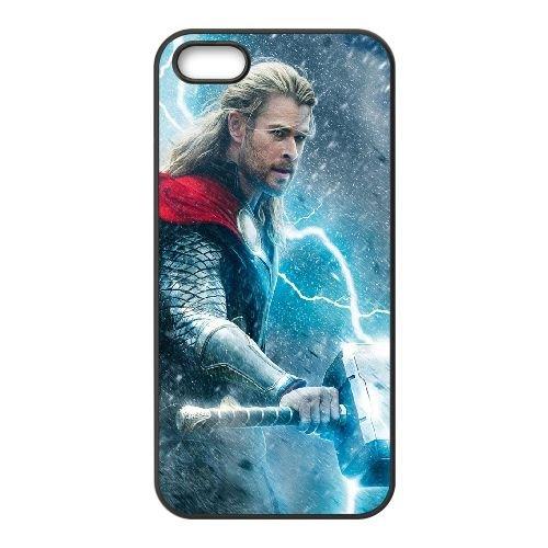 901 Thor L coque iPhone 5 5S cellulaire cas coque de téléphone cas téléphone cellulaire noir couvercle EOKXLLNCD21215