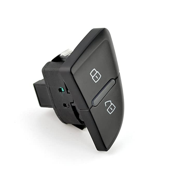 UPSM Central Door Lock Switch Button Rear Left and Right Fit for Audi A4 B8 S4 2008-2015 A4 Allroad 2010-2016 A5//S5 2008-2016 RS4 2013-2016 8K0962107A 8K0962108A