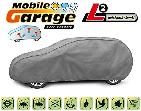 Kursport Funda Exterior para Coche Mobile Garage Hatchback L2