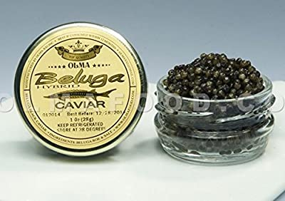 Sturgeon Beluga Caviar, Rated Top Black Caviar in the World, exclusively from OLMA by OLMA Caviar