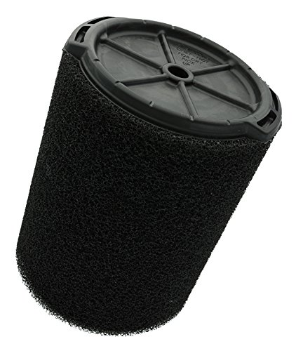 Ridgid VF7000 Genuine Replacement Foam Wet Application Only Vac Filter for Ridgid 5-20 Gallon Wet/Dry Vacuums