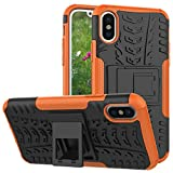 iPhone X Case, NOKEA [Drop Protection] [Shock Absorption] And Kickstand with Shockproof