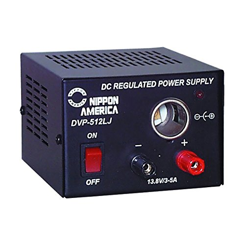 AQ- Nippon 5 Amp Power Supply with Lighter Jack