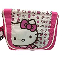 "HELLO KITTY 15"" MESSENGER CARRY CASE"