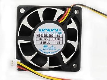 G6015M12B2 6015 60mm DC 12V 0.110A for Samsung DMD Fan HLN5065 HLN5665 HLN6165 HLN467 TV Fan