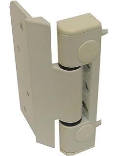 Nico Loadpro 3D Upvc Composite Butt Type Door Hinge White