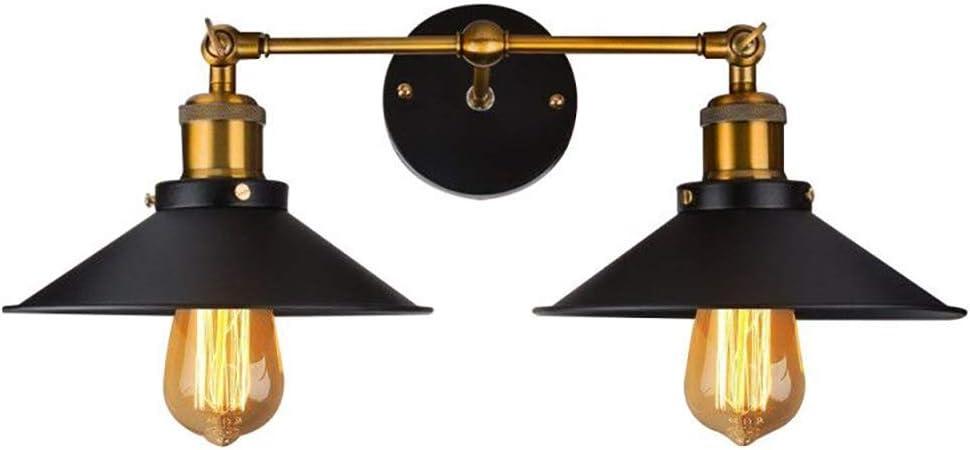 Vintagestyle Noir Loft Industriel Métal Rustique Appliques Murale Lampe Sans Ampoule