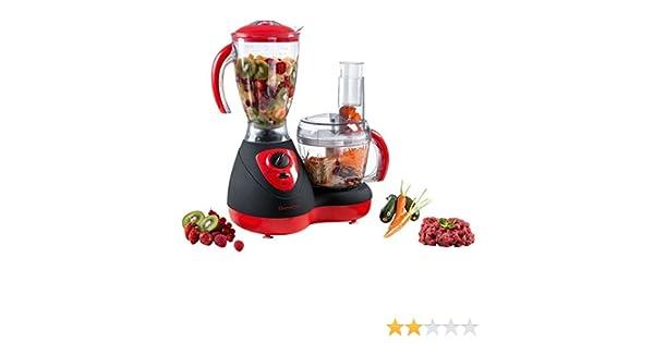 Domoclip Robot De Cocina Multifunction Negro/Rojo: Amazon.es: Hogar