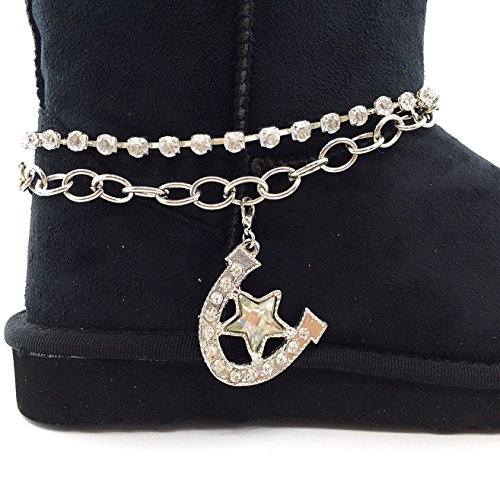 Boot Fringe Rhinestone Western Lace Peak Boots Suede Winter Chain Ruffle Pink Gray Cover Snow Hroseshoe Black wwatv