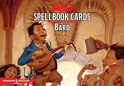 D&D Next: Bard Spell Deck 73901 by Gale Force 9