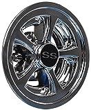ss wheel cover - Golf Cart SS Wheel Covers Hub Caps Yamaha Club Car Ez-Go Par Car 8
