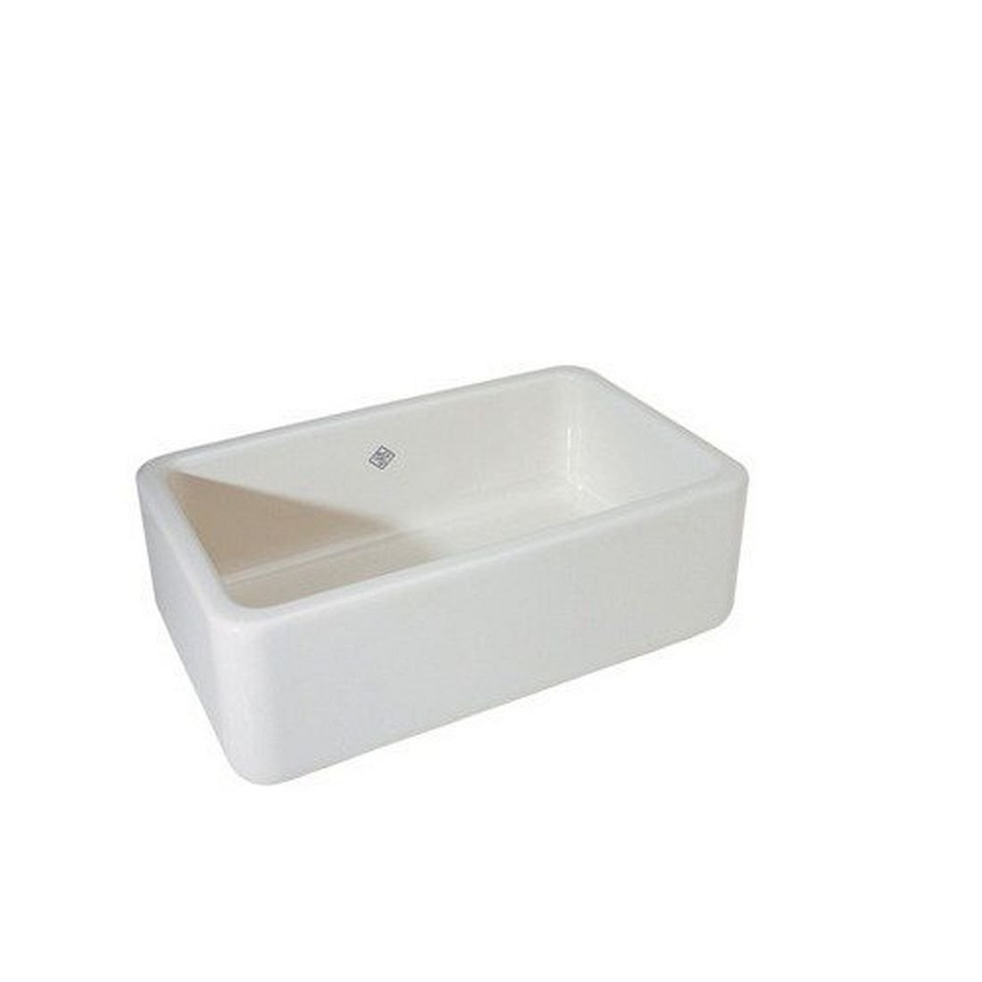 Rohl RC3018WH 30 Inch By 18 Inch By 10 Inch Shaws Lancaster Apron Front  Single Bowl Fireclay Kitchen Sink, White   Farmhouse Kitchen Sink    Amazon.com