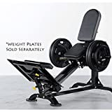Powertec Fitness Compact Leg Sled, Black