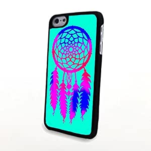 apply Pretty Dream Catcher Carrying Case for PC Phone Cases fit For Apple Iphone 5C Case Cover s Retro Plastic Cover Hard Shell Protector Slim Diy