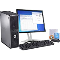 Dell Optiplex  Intel Core 2 Duo 2600 MHz 80Gig Serial ATA HDD 4096mb DDR2 Memory DVD ROM Genuine Windows XP Professional + 17 Flat Panel LCD Monitor(Brands may vary) PC Computer-(Certified Reconditioned).