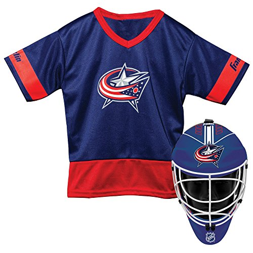 Franklin Sports NHL Columbus Blue Jackets Youth Team Uniform (Hockey Halloween Blue Jackets)