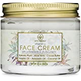 Vitamin C Face & Eye Cream - 2oz Revitalizing Natural Anti Aging Moisturizer With Kakadu Plum, Jojoba Oil, Avocado Oil, & Vitamin E for Dry Skin, Wrinkles, Aging, Eye Bags, Dark Circles & Crows Feet