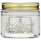 Vitamin-C Face Moisturizer & Eye Cream - Revitalizing Natural Anti Aging Moisturizer With Kakadu Plum, Jojoba Oil, Avocado Oil, Vitamin E for Dry Skin, Wrinkles, Aging & Eye Bags 2.0oz/56.6g