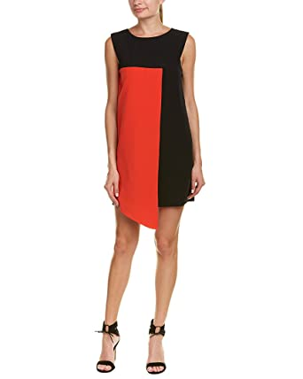 Image Unavailable. Image not available for. Color  MILLY Womens  Colorblocked Shift Dress b3731e8e2c