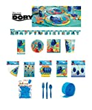 Finding Dory Kids Birthday Party Pack Decoration DELUXE KIT FOR 16 - 125 CT