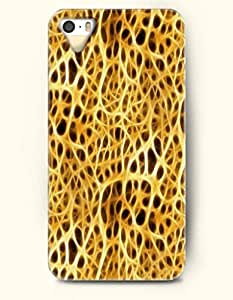 iPhone 5/5S Case, OOFIT Phone Cover Series for Apple iPhone 5 5S Case (DOESN'T FIT iPhone 5C)-- Gold Cheetah Print -- Animal Print