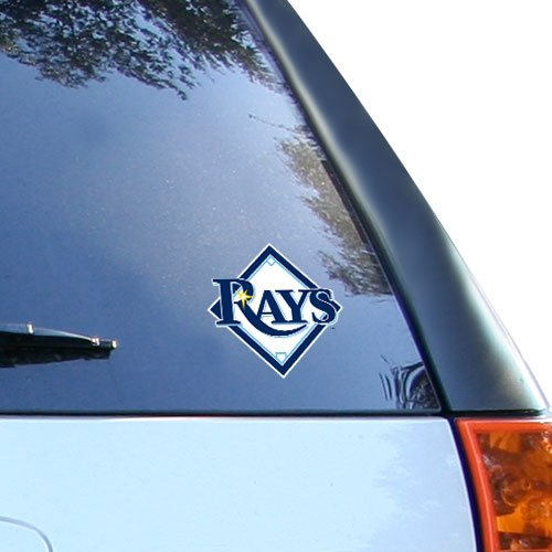 Tampa Bay Rays Rico Industries Static Cling Decal (Tampa Bay Cycling)