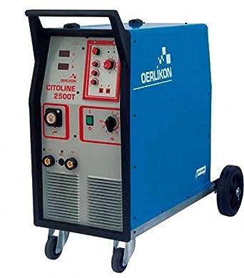 Weld Line - Gas chweiß dispositivo Mig Mag Oerlikon cito Line 2500 T - 250 Ampe: Amazon.es: Industria, empresas y ciencia
