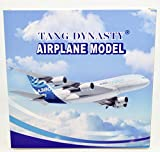 TANG DYNASTY(TM) 1:400 16cm Air Bus A380 Lufthansa Airlines Metal Airplane Model Plane Toy Plane Model
