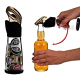 Creative Trudeau Beer Bottle Cap Catcher Bottle Opener Soft Touch and Storage Hold up to 30 Caps