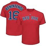 Majestic Athletic Men's Boston Red Sox Andrew Benintendi Name & Number Red T-Shirt
