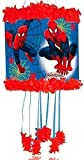 Ultimate Spiderman Pull-String Piñata & Blindfold Childrens Party Game