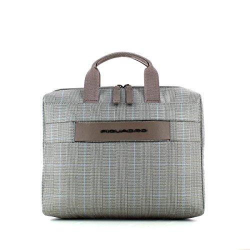 Piquadro Move 2 Beauty Case da Viaggio, Sintetico, Prince/Tortora, 26 cm