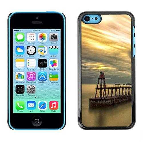 Premio Sottile Slim Cassa Custodia Case Cover Shell // F00029567 lumières côtières // Apple iPhone 5C