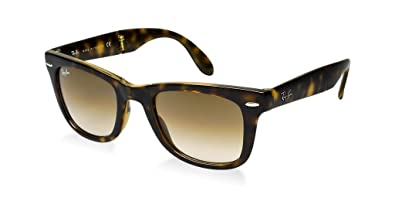 cea56fe452d3c Image Unavailable. Image not available for. Color  Ray Ban RB4105 710 51  50mm Light Havana Gradient Folding Wayfarer Bundle-2