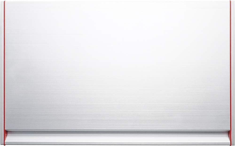 That Thawthat Modern Tabla de Descongelación, Aluminio Anodizado y Acero Inoxidable, Plateado, 35x23x3 cm