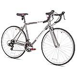 Giordano Acciao Venus Women's Road Bike, Grey/White/Pink, Medium