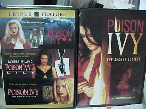Poison Ivy Complete Collection 1-4 : Poison Ivy, Poison Ivy 2 Lily , Poison Ivy the New Seduction , Poison Ivy the Secret Society