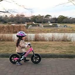 Amazon Co Jp カスタマーレビュー キッズ用ランニングバイク Strider ストライダー ピンク St J4