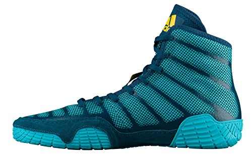adidas Yellow Aqua Men's Blue Shoes Wrestling Performance Wrestling Adizero XIV 0q0Wrg18F