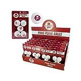 123-Wholesale - Set of 48 Alabama Ping Pong Balls Countertop Display - Sporting Goods Indoor Games