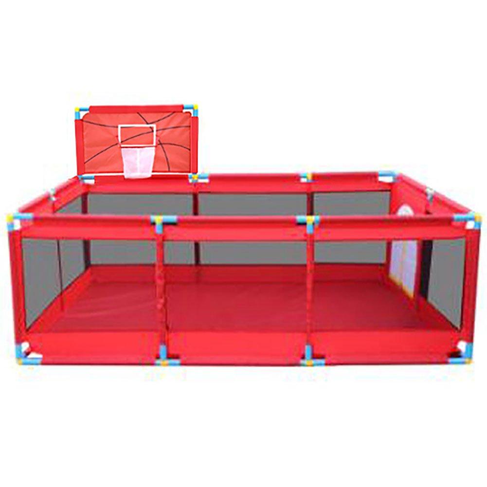 トップ WSSF- 3) 赤ちゃんの遊び場のゲームの安全フェンスプラスチックの赤い子供遊びバスケットボールのフープ活動パネル屋内と屋外の遊び場アセンブリ (色 Style : Style Style 3) Style 3 B07F5QPYWZ, アイルインテリアプランニング:f48966a2 --- a0267596.xsph.ru