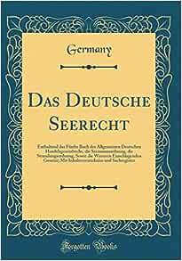 Seerecht Deutschland