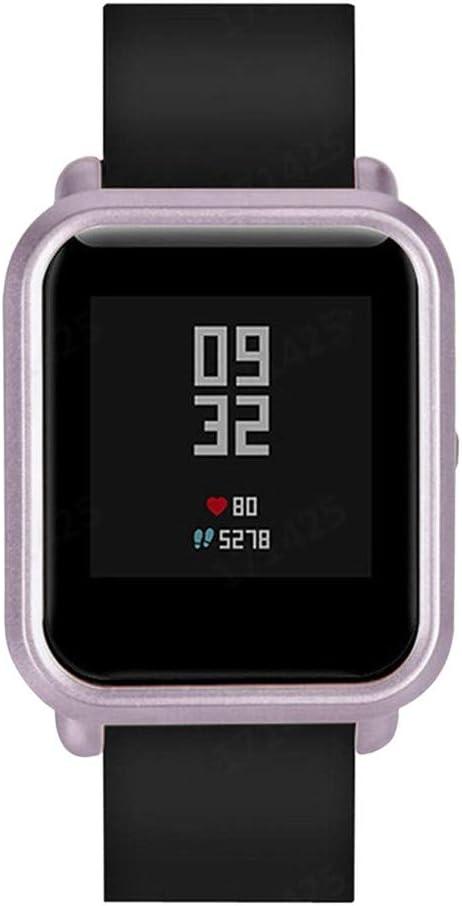 Protector para xiaomi huami amazfit bip Youth, riou Suave de TPU de Silicona Smartwatch Protector Funda de protección para xiaomi huami amazfit bip smartwatch Reloj Fundas de Carcasa