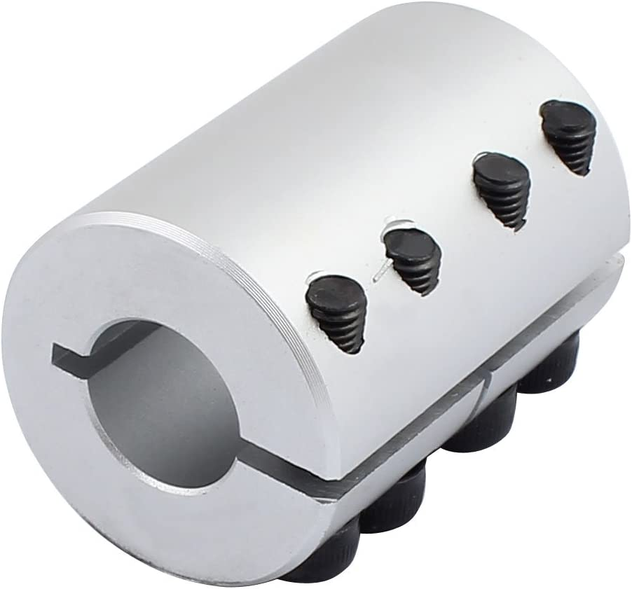 sourcingmap Motor Schaft 5mm zu 6,35mm Steckdose spiralform Strahl Koppler 20mm x 25mm DE de