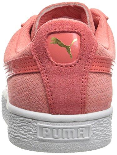 Puma Donne Cesto Wns Remaster Moda Sneaker In Porcellana Rosa