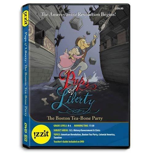 Pups of Liberty: The Boston Tea-Bone Party -