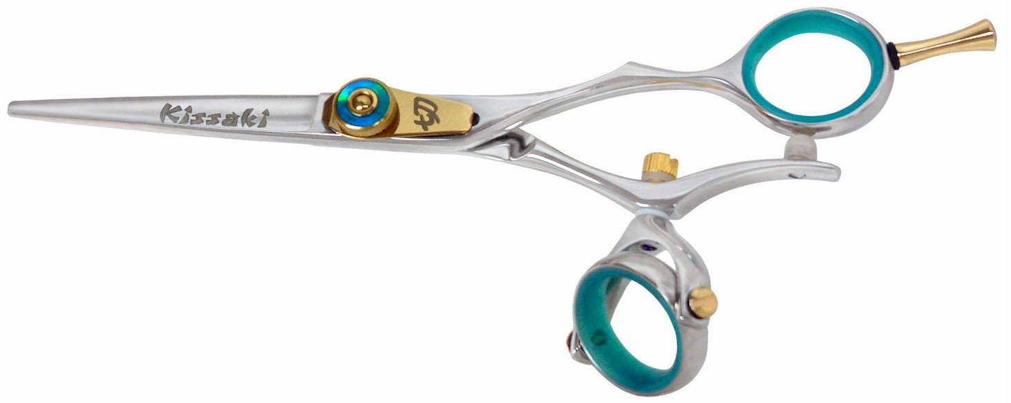 Kissaki Hair Scissors Gokatana 5.5'' B Double Swivel Hair Cutting Shears Hairdressing Scissors by Kissaki